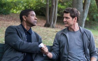 """Denzel Washington and Pedro Pascal star in a scene from the movie """"The Equalizer 2.""""  (CNS photo by Sony)"""