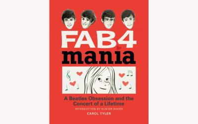 """This is cartoonist Carol Tyler's graphic memoir """"Fab4 Mania: A Beatles Obsession and the Concert of a Lifetime."""" Her graphic memoir is an annotated facsimile of a diary she kept as a teenager in the 1960s. Tyler was a schoolgirl outside of Chicago when her world was upended by hearing the Beatles for the first time. (CNS photo by Fantagraphics)"""