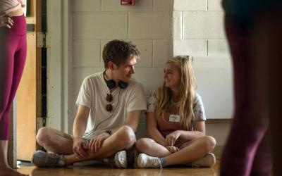 """Bo Burnham and Elsie Fisher star in a scene from the movie """"Eighth Grade."""" (CNS photo by A24 Films)"""