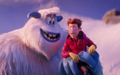 """Characters are shown in a scene from the animated movie """"Smallfoot."""" The Catholic News Service classification is A-II -- adults and adolescents. The Motion Picture Association of America rating is PG -- parental guidance suggested. Some material may not be suitable for children.(CNS photo by Warner Bros. Pictures)"""