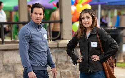 "Rose Byrne and Mark Wahlberg star in a scene from the movie ""Instant Family."" The Catholic News Service classification is A-III -- adults. The Motion Picture Association of America rating is PG-13 -- parents strongly cautioned. Some material may be inappropriate for children under 13. (CNS photo by Paramount Pictures)"