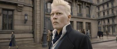 "Johnny Depp stars in a scene from the movie ""Fantastic Beasts: The Crimes of Grindelwald."" The Catholic News Service classification is A-II -- adults and adolescents. The Motion Picture Association of America rating is PG-13 -- parents strongly cautioned. Some material may be inappropriate for children under 13. (CNS photo by Warner Bros.)"