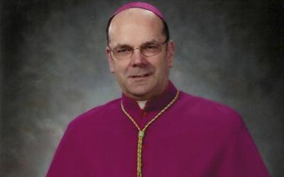 Bishop Robert J. Cunningham of Syracuse, N.Y., is pictured in this May 14, 2009, photo.(CNS photo courtesy Diocese of Syracuse)