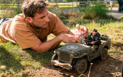 """Steve Carell star in a scene from the movie """"Welcome to Marwen."""" The Catholic News Service classification is A-III -- adults. The Motion Picture Association of America rating is PG-13 -- parents strongly cautioned. Some material may be inappropriate for children under 13. (CNS photo by Universal)"""