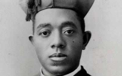 Father Augustus Tolton is the first recognized U.S. diocesan priest of African descent.  (CNS photo courtesy of Archdiocese of Chicago Archives and Records Center)