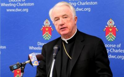 Bishop Michael J. Bransfield of Wheeling-Charleston, W.Va., is seen in this 2012 file photo. (CNS photo by Tim Bishop/Catholic Spirit)