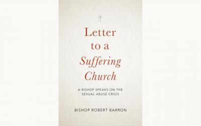 "This is the cover of ""Letter to a Suffering Church: A Bishop Speaks on the Sexual Abuse Crisis"" by Bishop Robert Barron."