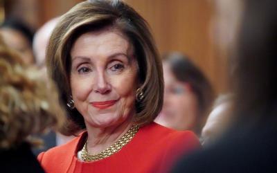 U.S. House Speaker Nancy Pelosi, D-Calif., is seen on Capitol Hill Dec. 19, 2019.