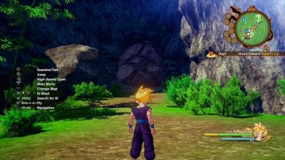 "This is an image from the video game ""Dragon Ball Z: Kakarot."""