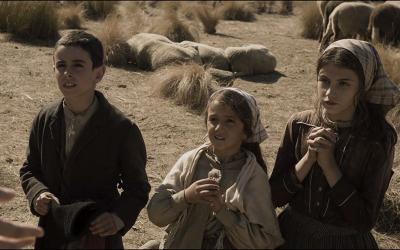 "Jorge Lamelas, Alejandra Howard and Stephanie Gil star in a scene from the movie ""Fatima."""