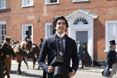 "Dev Patel stars in a scene from the 2020 film ""The Personal History of David Copperfield."""