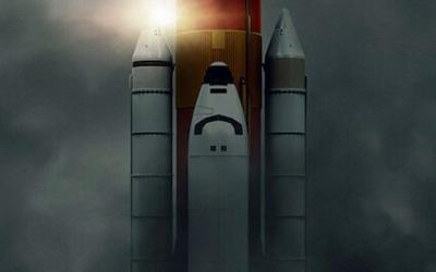 """This is the TV poster for """"Challenger: The Final Flight"""" streaming on Netflix."""