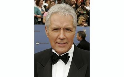 """Alex Trebek, host of the game show """"Jeopardy,"""" is seen in this 2006 file photo."""