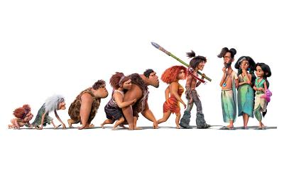"""This is the poster for the movie """"The Croods: A New Age."""""""
