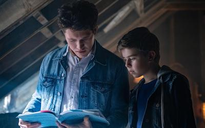 """Rohan Campbell and Alexander Elliot star in a scene from the Hulu series """"The Hardy Boys."""""""