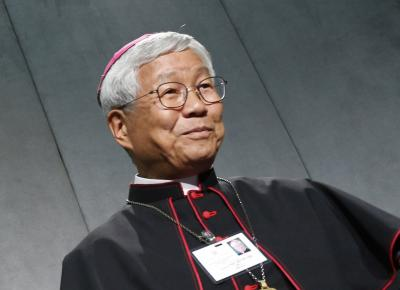 South Korean Archbishop Lazarus You Heung-sik, prefect of the Vatican Congregation for Clergy, is pictured in an Oct. 11, 2018, photo.