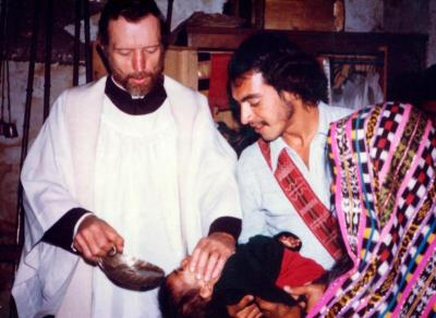Father Stanley Rother, left, a young priest from Oklahoma, served impoverished indigenous people in Guatemala.