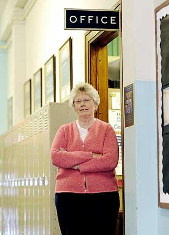 Elizabeth Berliner, principal of Holy Family Middle School in Elmira, retired at the end of the 2009-10 school year.