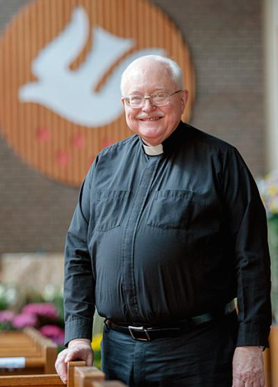 Father P. Frederick Helfrich will retire as pastor of Holy Spirit in Webster at the end of June.
