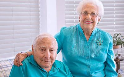 <p>Thomas and Angela Lauria will celebrate 74 years of marriage on Oct. 28.  </p>