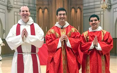 <p>Father Aquinas Beale was ordained a priest in the Order of the Preacher May 19 at the Basilica of the National Shrine of the Immaculate Conception in Washington, D.C.  </p>