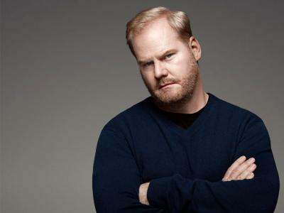 """Jim Gaffigan, the comic actor known both for his funny books like """"Dad Is Fat"""" and """"Food: A Love Story"""" and his inclusion of his Catholicism in his stand-up routines, is pictured in a 2010 photo. Gaffigan and his wife, Jeannie, have collaborated on a new TV Land cable sitcom, """"The Jim Gaffigan Show."""""""
