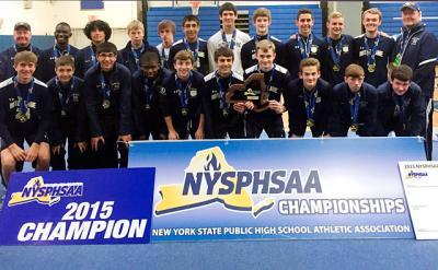 The Elmira Notre Dame boys' soccer team took home a Class C state title.