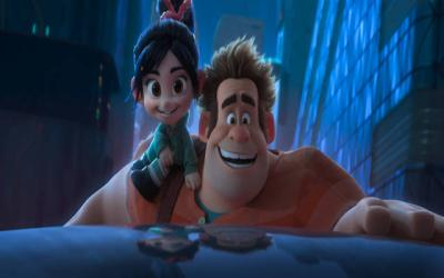 "<p>Animated characters Ralph and Vanellope star in a scene from the movie ""Ralph Breaks the Internet."" (CNS photo by Disney)  </p>"