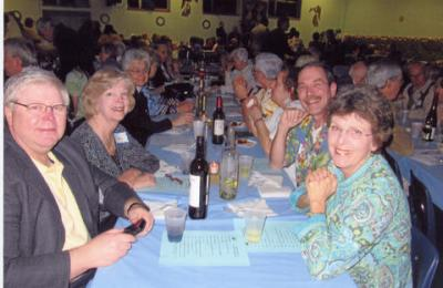 Members of the Rush-Henrietta Catholic Community got to know each other better during a cruise-themed dinner dance.