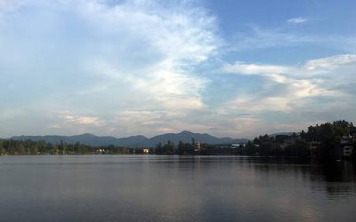<p>Mirror Lake in Lake Placid, N.Y. (Courier photo by Gina Capellazzi)  </p>