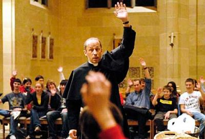 """Father Tony Ricard speaks on the topic """"We Are a People of Joy"""" at Sacred Heart Cathedral Nov. 16 as part of a three-day Black Catholic Revival."""