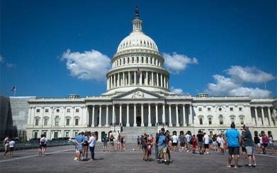 The U.S. Capitol is seen in Washington July 24, 2019.