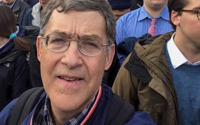 <p>Dr. Stephen Spaulding participates in the 2020 March for Life in Washington, D.C., Jan. 24. (Photo courtesy of Dr. Stephen Spaulding)  </p>