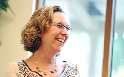 Alene Goodman serves as faith-formation coordinator for Corning's All Saints Parish.