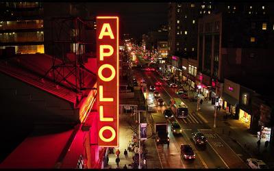The Apollo marquee
