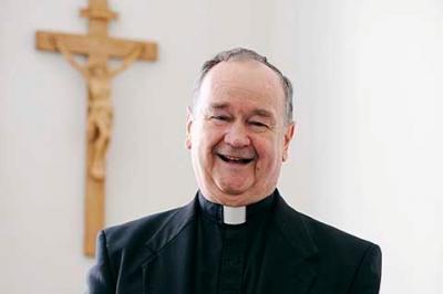 Father R. Richard Brickler.
