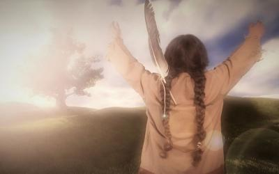 """Walking the Good Red Road: Nicholas Black Elk's Journey to Sainthood"" premieres May 17 on ABC."