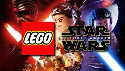 """This is a still from the video game """"Lego Star Wars: The Force Awakens."""""""