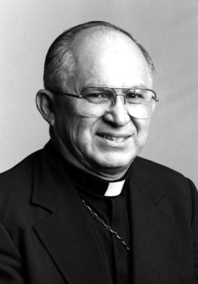 The late Archbishop Patricio Fernandez Flores, retired archbishop of San Antonio and the first Mexican-American elevated to the hierarchy in the Catholic Church in the United States, is pictured in this photo from the 1990s. Archbishop Flores, 87, died Jan. 9 of complications of pneumonia and congestive heart failure.