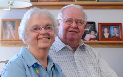 Deacon Jim Fitch and pastoral administrator Donna Fitch retire from St. Ann, Palmyra.