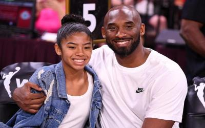 Retired NBA legend Kobe Bryant and his daughter Gianna