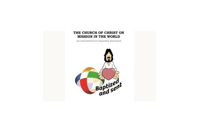 The logo of the Extraordinary Missionary Month October 2019.