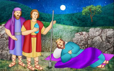 King Saul and David
