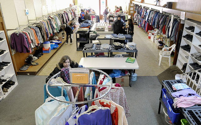 Catholic Charities of Wayne County's Community Clothing Center in Wolcott receives funding from the Catholic Courier/Catholic Charities Christmas Appeal. (Courier file photo)