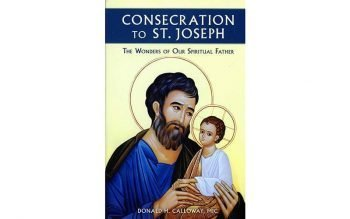 Thirty-nine men from St. Peter Parish are reading Father Donald H. Calloway's 2020 book, Consecration to St. Joseph: The Wonders of Our Spiritual Father. (Photo by CNS)