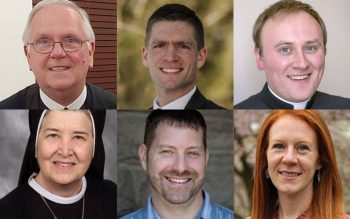 """Guest speakers for the upcoming """"From Love, For Love: Discerning God's Will For Me"""" May 22 in Auburn."""