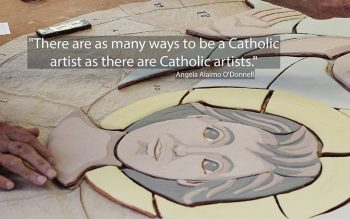 This meme accompanies the second article of Faith Alive! No 27. (CNS illustration; photo by Chaz Muth)