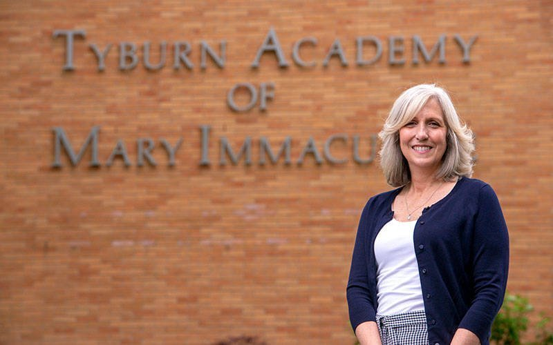 Maura DelFavero left her position July 1 after five years as principal at Tyburn Academy in Auburn. (Courier photo by Jeff Witherow)