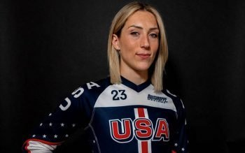 Felicia Stancil of Indianapolis is seen in this undated photo. The Marian University graduate is part of USA Cycling competing in the Summer Olympics in Tokyo in the BMX events taking place July 28 and 29. (CNS photo by Stancil Family, courtesy The Criterion)