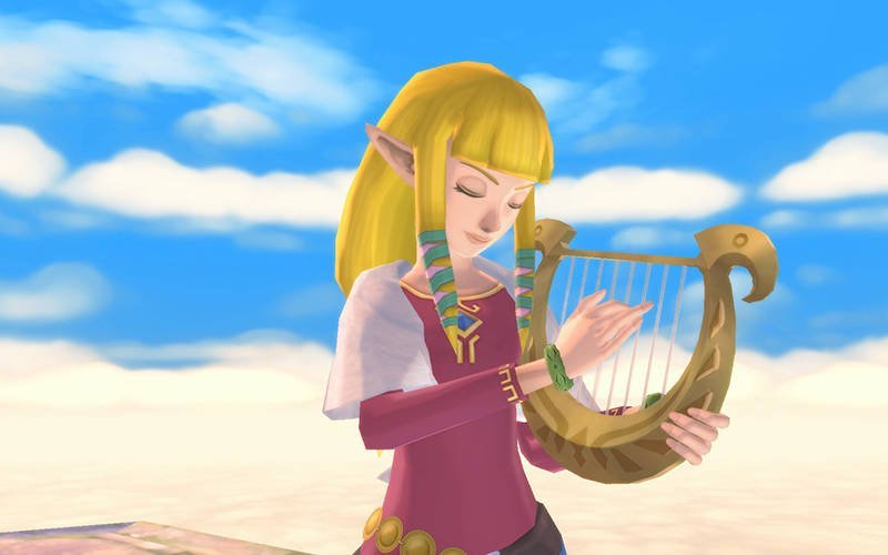 """This is a scene from the video game """"Legend of Zelda: Skyward Sword HD."""" The Catholic News Service classification is A-II — adults and adolescents. The Entertainment Software Ratings Board rating is E — everyone. (CNS photo by Nintendo)"""